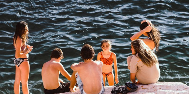 Top Family-friendly vacation ideas include swimming