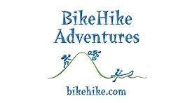 bike hike adventures logo